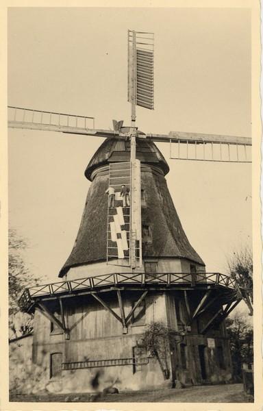 Historische Ansicht der Windmühle