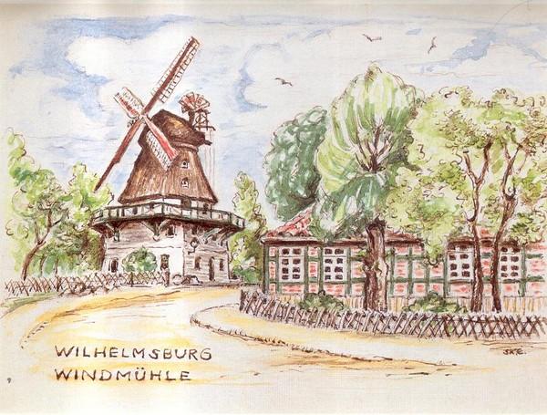 Zeichnung von Dora Klier-Einsiedel