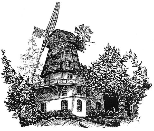 Zeichnung Rolf Petersen